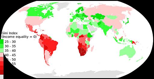 Gini map 512