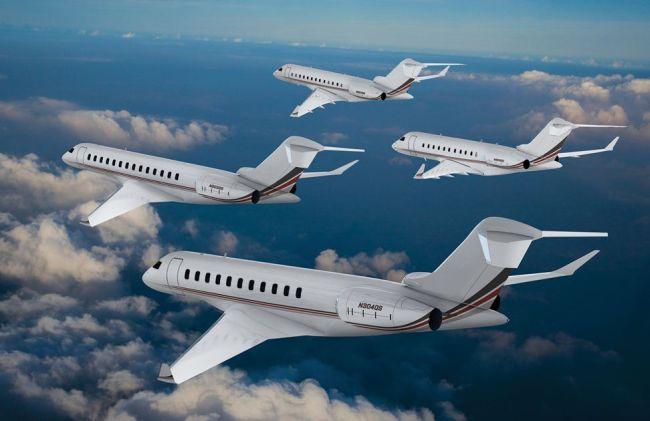 Bombardier Global family 650