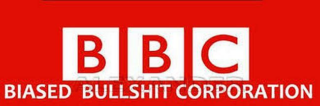 BBC 1 Biased Bulshit Corporation 650
