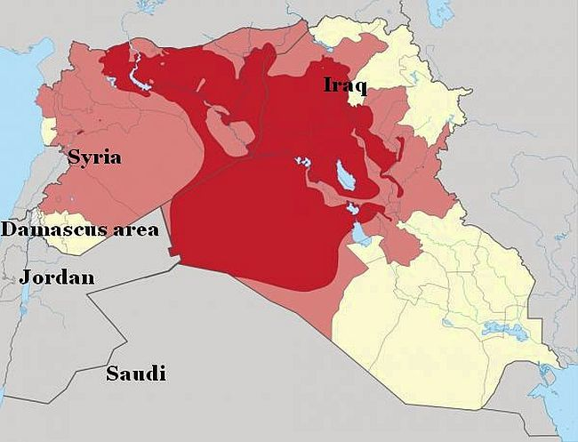 Isis territory 650