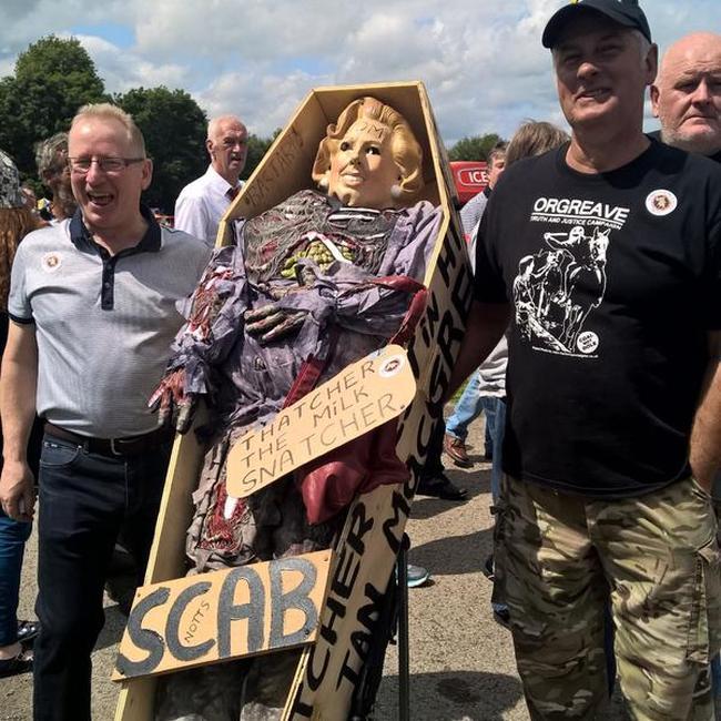 Thatcher miners 650