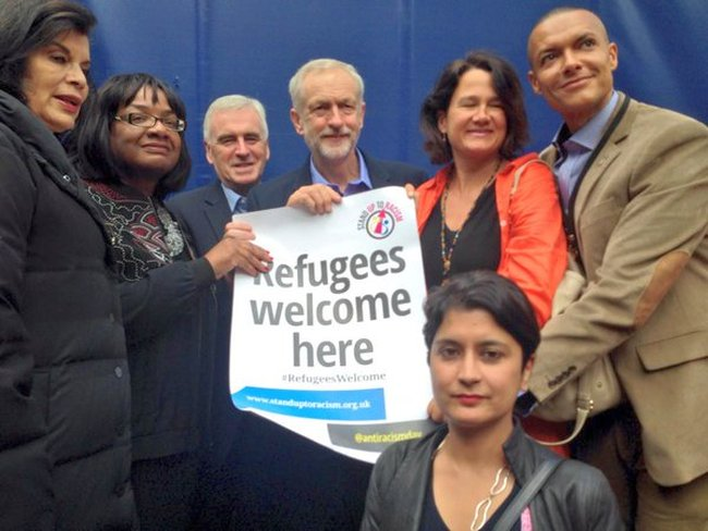 Corbyn refugees welcome 650