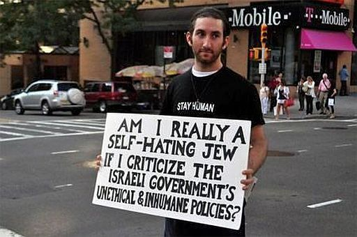 Israeli self hating jew 512
