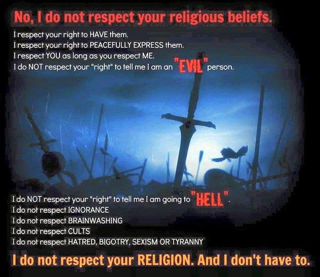 Religion respect