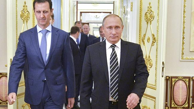Why has Putin exited from Syria?