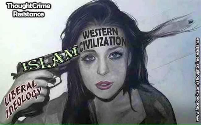 Islam bullet through head 650