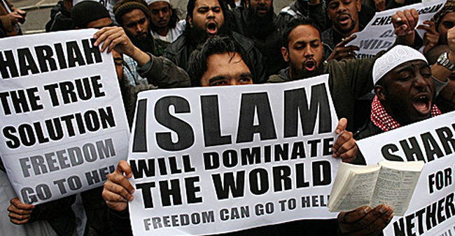 Islam protest 650