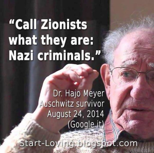 Israel zionists are nazis 650