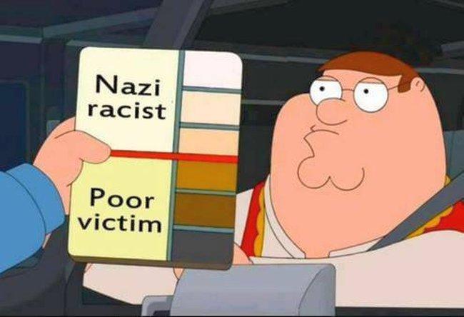 Racism colour chart 650