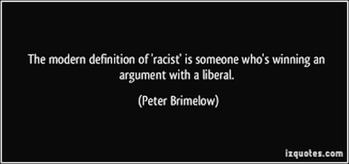 Racism liberal 500