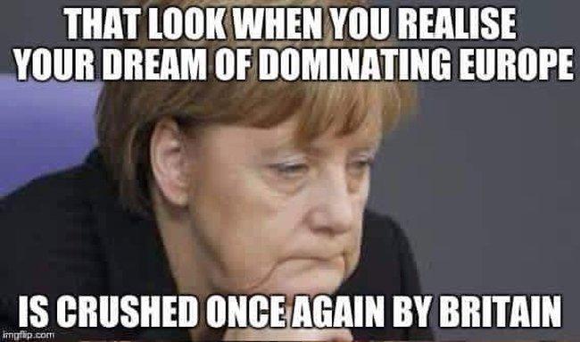 Merkel crushed by Britain 650