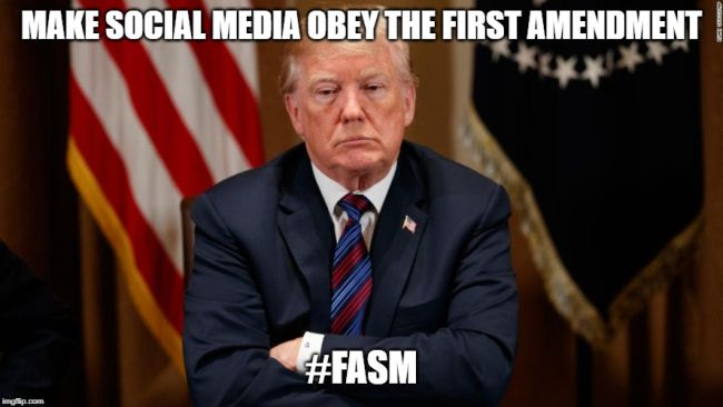 The First Amendment Must Be Applied to Social Media #FASM
