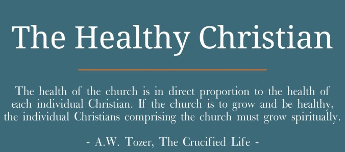 The Healthy Christian