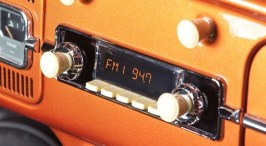 Image result for old radio in car