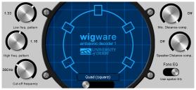 WigWare Ambisonic Decoder Screenshot