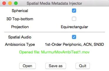 Google Spatial Media Tools GUI