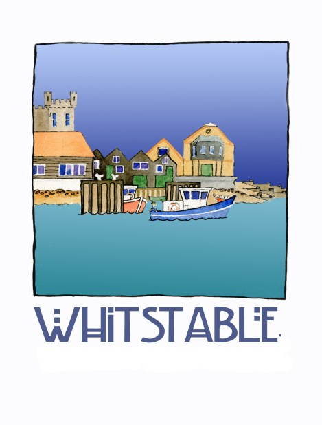 Whitstable Beer label