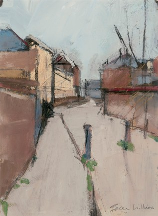 Victoria St. Whitstable. Image size - 26 x 36cm. Mounted and framed - 49 x 59cm