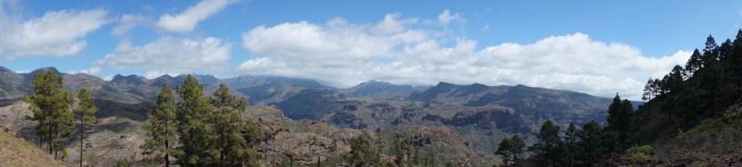 Traumhaftes Bergpanorama.