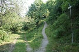 Trailauffahrt...