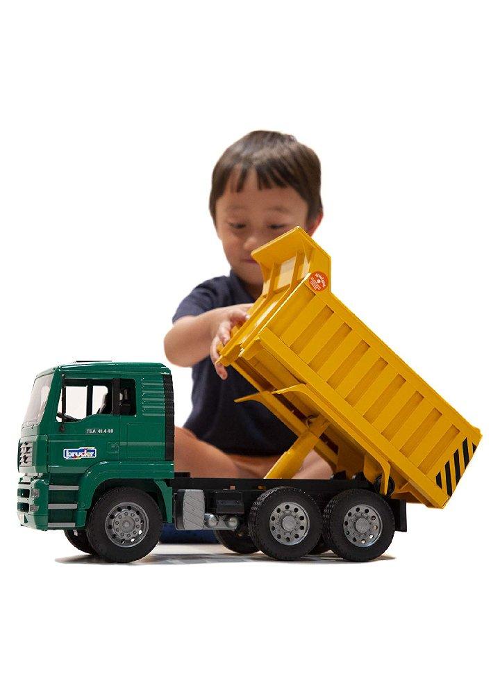 Camion man ribaltabile Bruder