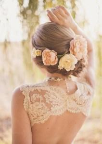 brudehår oppsatt