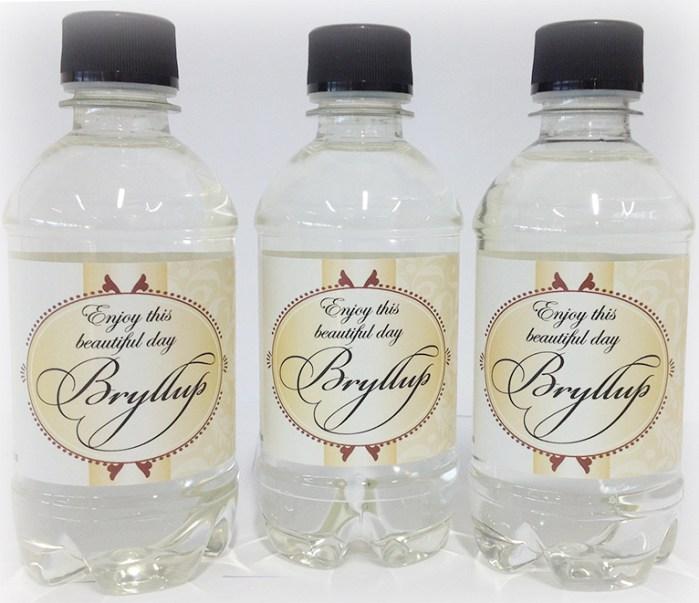 Etiketter-bryllup-vannflaske-oslo-norge-bryllup