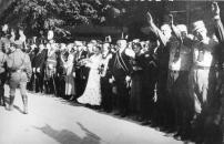 1933 Mit Hitlergruß bei der Pfingstparade