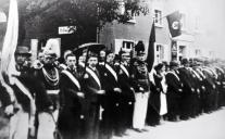 1936 König Hubert Schmitz, Königsparade in Kipshoven