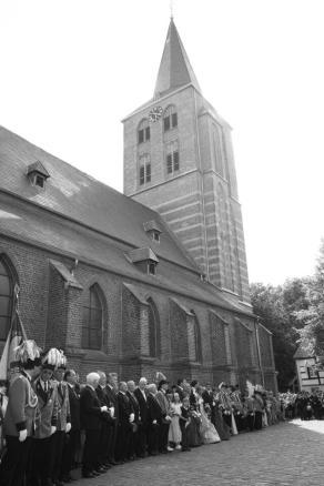 Parade am Pfingstsamstag