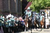 2009 Die Reiter bei der Königsparade