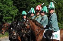 2012 Die Reiteroffiziere Roger Wintzen, Simon Bürgers, Ralf Axer, Dennis Pappers, Daniel Schlagheck