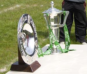 The 6 Nations & Triple Crown Trophies in Kilballyowen