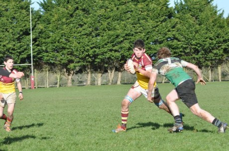Oran Ring in action for the u18's