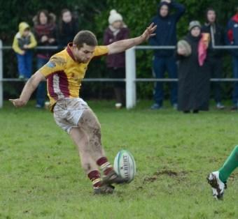 Tony Cahill in action