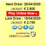 Jackpot €2,800