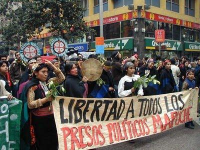Fototentoonstelling Mapuche-indianen
