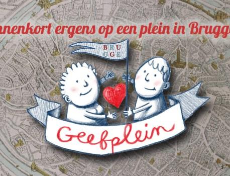 Binnenkort ook in Brugge een Geefplein