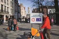 Brugge zet stap achteruit: straten pas autoluw om 13u