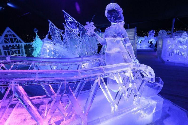 Energieverslindende ijssculpturen verdwijnen uit Brugge