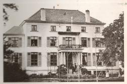 Het kasteel Les Acacias in het jaar 1910? foto: legebuurt