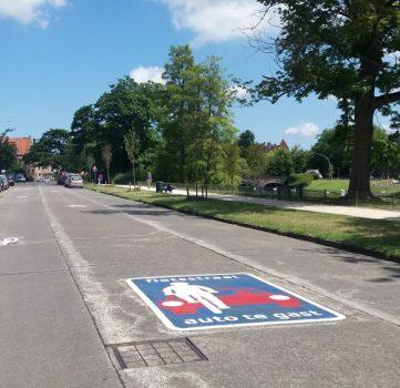 Ook Filips De Goedelaan nu fietsstraat