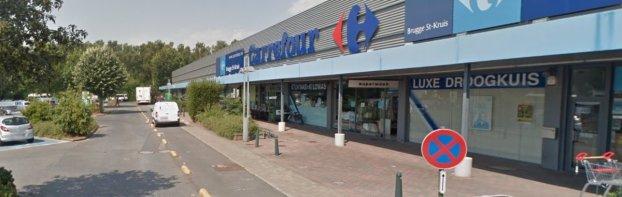 ook bij Carrefour Sint-Kruis banen op de tocht