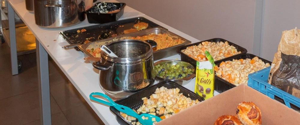 Soepcafé: koken met voedseloverschotten