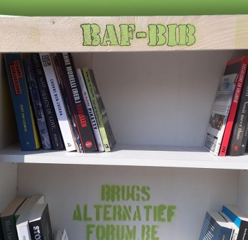 Binnenkort ontleen je boeken over ecologie en sociale kwesties in de BAF-Bib