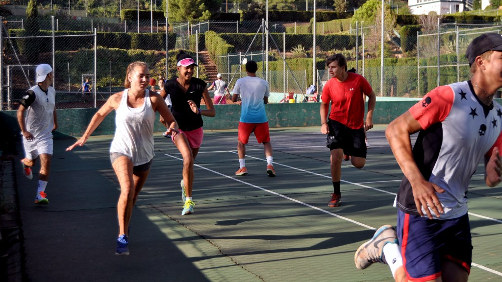 Tennis preseason at Bruguera Academy 2