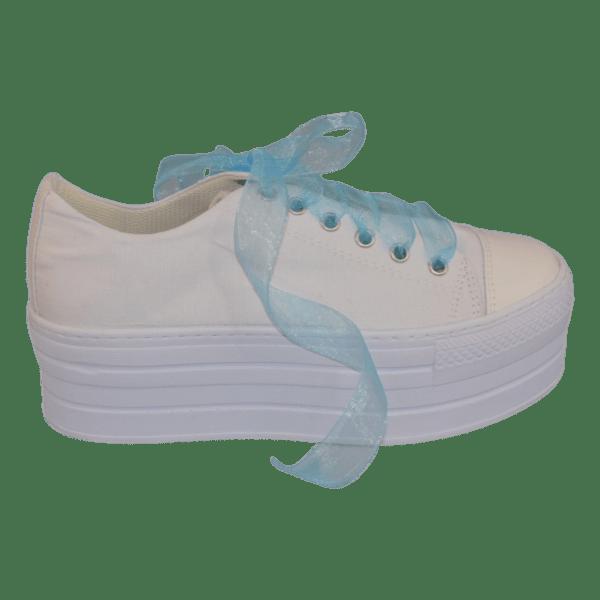 Bruidssneakers wit