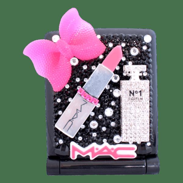 Vanity led mirror mac pink