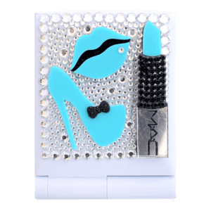vanity led mirror mac blue