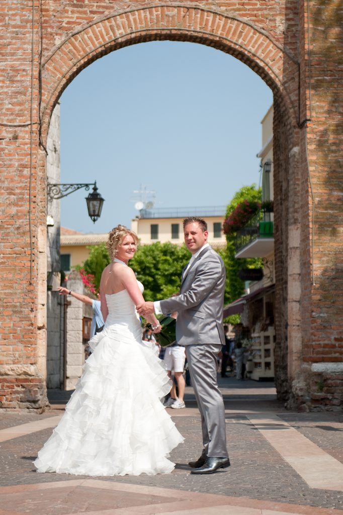 Karin & Hugo trouwen in Italië